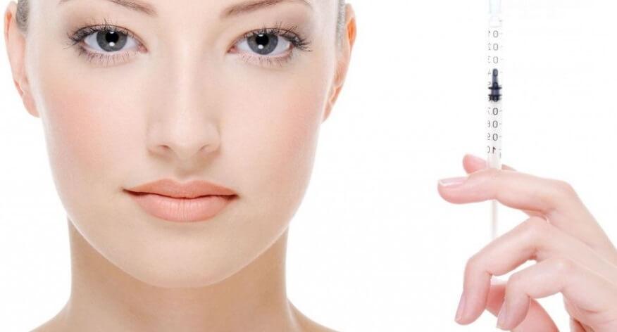 Likwidacja zmarszczek wokół oczu i w kącikach oczu